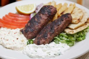bifteki platter