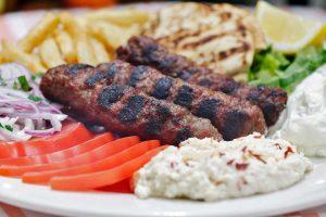 kebab platter